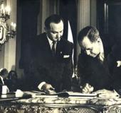 Firma de la Constitución Nacional, 23 Enero 1961