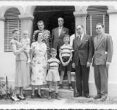 Familia Uslar Pietri. Caracas 1950