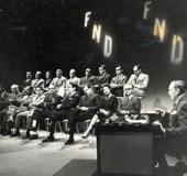 Presentación al país del partido Frente Nacional Democrático. Caracas, 1964