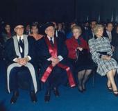 Acto de conferimiento del Doctorado Honoris Causa de la Universidad Metropolitana, Caracas, 1989