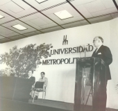 Pedro Grases, Unimet, 1981
