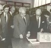 Universidad Metropolitana, 1981. Presidente Luis Herrera Campins, Pedro Grases