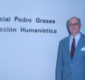 Homanaje a Don Pedro Grases en la Bilioteca Pedro Grases