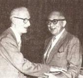 Con Eleazar López Contreras (s. f.)